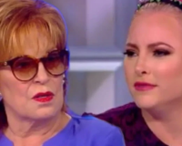 "Meghan McCain slams Joy Behar during heated argument over Trump campaign kickoff: ""Don't feel bad for me, bitch. I'm paid to do this!"""