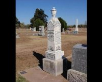 "Alarming warning engraved on this patriot's tombstone 129 years ago warning us about the Democratic ""party of treason"""