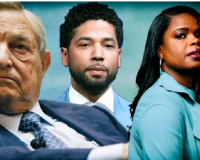 In the Smollett case, Soros' money was being funneled to prosecutor Kim Foxx who dropped the original. Imagine that! Now we have a retrial