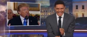 VIDEO: Liberal weenie fake comedian Trevor Noah has a new fixation - President Trump's teeth
