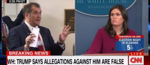 VIDEO: CNN White House correspondent arrogantly demands that Sarah Sanders reveals whether she has ever been sexually harrassed