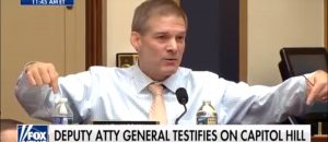 VIDEO: Wow! Congressman Jim Jordan rips Deputy AG Rod Rosenstein a new exhaust port over the clearly biased and corrupt FBI