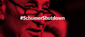 "Blizzard reported in hell! Liberal media blames Dems for shutdown. NY Times: ""Senate Democrats Block Bill to Keep Government Open Past Midnight"""