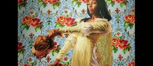 Painter of Obama's official presidential portrait is well-known for paintings of black women beheading white women. Obama had to know this
