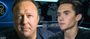 Hurling lies and insults, David Hogg dares Alex Jones to debate him. Jones accepts, inviting Hogg onto his show. Hog declines, runs and hides