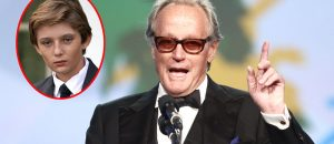 BREAKING! Melania Trump has reported Peter Fonda to the Secret Service for his threats against Barron and President Trump. Lock the miserable SOB up!