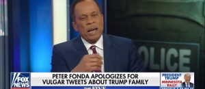 "VIDEO: Juan Williams defends Peter Fonda's criminal attack on Barron Trump. His most critical comment? Fonda's tweets were ""poorly worded"""