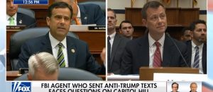 I am finding many rare gems from the Strzok testimony, like this one. John Ratcliffe absolutely destroys Peter Strzok, who never knew what hit him
